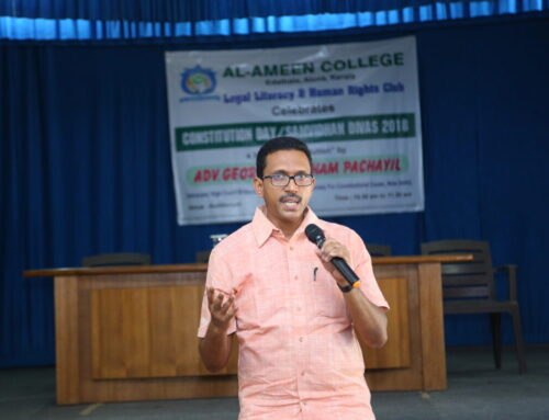 A Talk on Constitution Day
