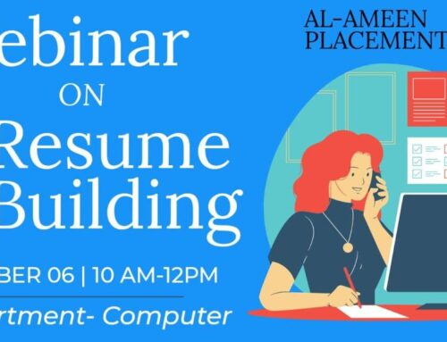Webinar on Resume Building