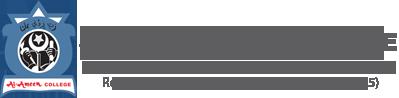 Al- Ameen College Logo