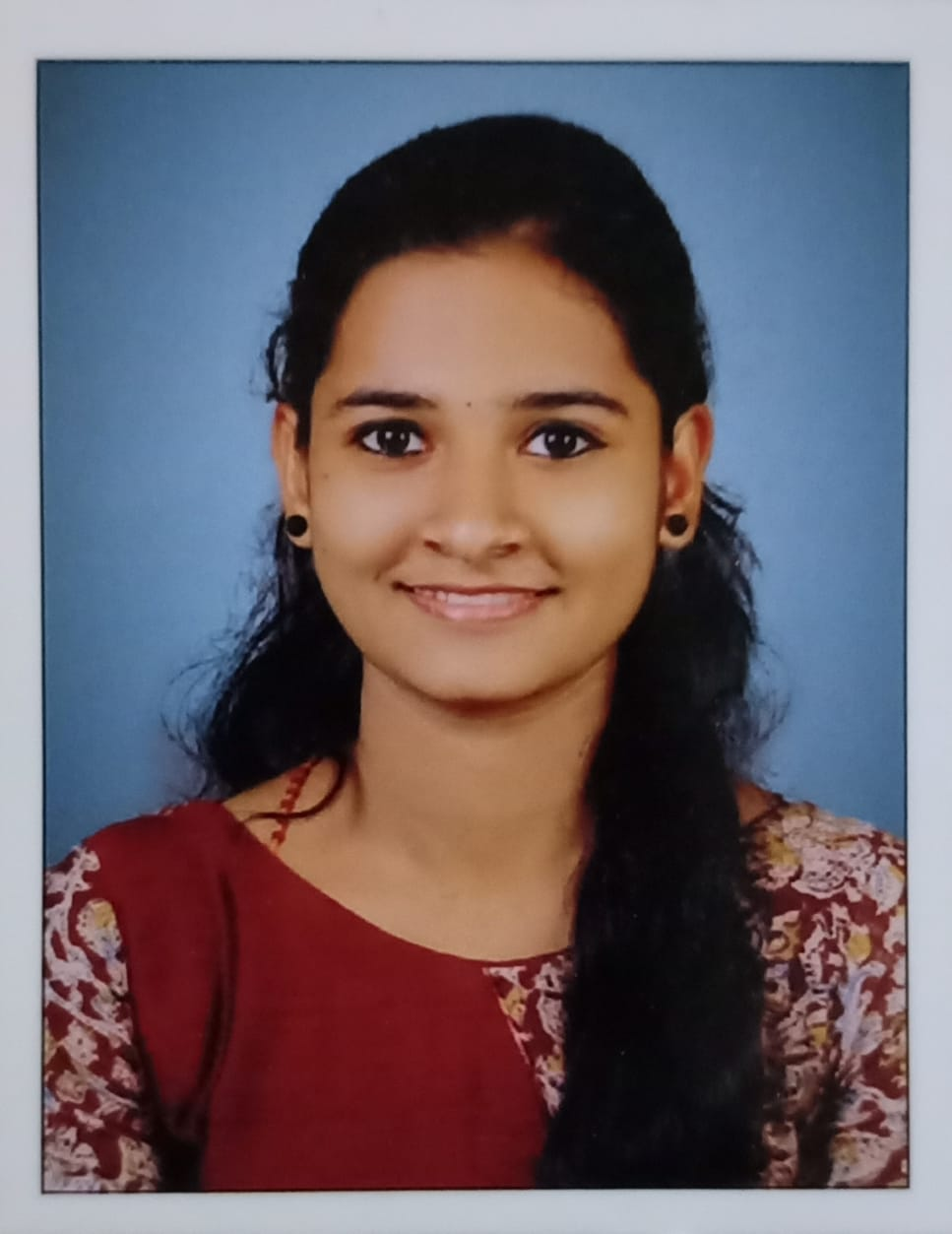 Anju K S,BSc Computer Science Placed in Cognizant